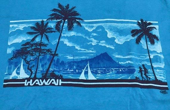 Hanes hawaii 80s vintage