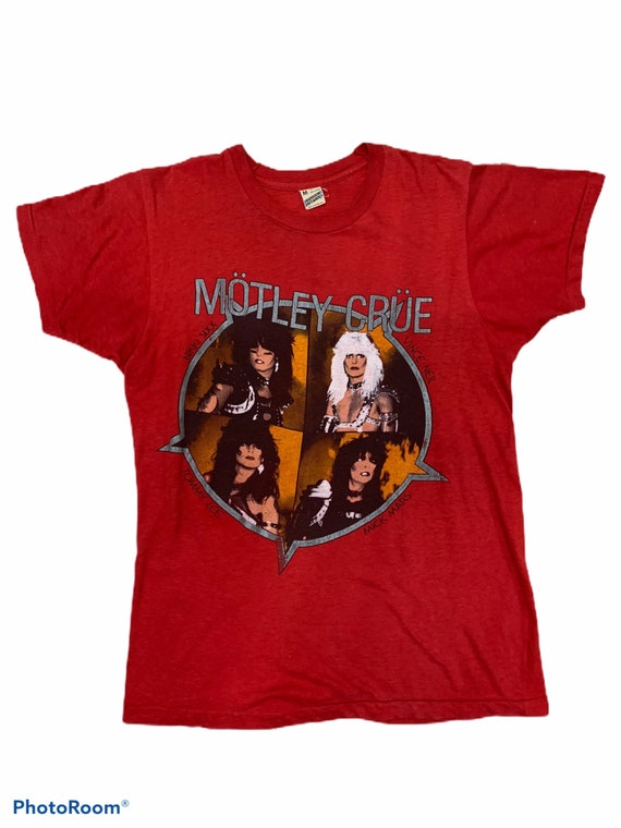 Motley crue vintage 80s tour