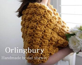 Bride and bridesmaid shawl, wedding cover-up, Romantic Bridal Capelet, Wedding Shawl, Winter Wedding shawl, Wedding capelet, Bridal Sweater