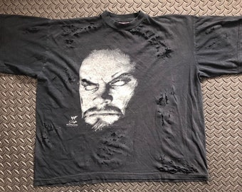 free shipping 2f69f 91911 Custom distressed Vintage 90s Undertaker 1998 WWF shirt