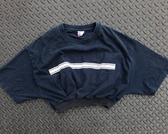 ba3dfe132 Custom crop top vintage 90s Tommy Hilfiger cropped t-shirt