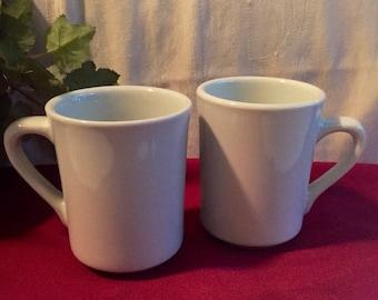 Rego Ware Porcelain Mugs / Set of (2)