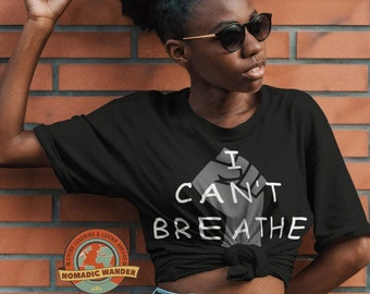 Unity Cant Breath, I cant breath, unity, freedom, justice, liberation, blm, black lives matter, tee shirt, tshirt, justice for