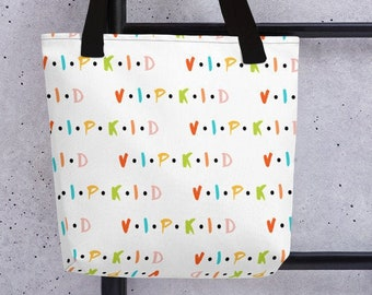 Friends VIPKID Tote, trendy tote, Classroom bag, bag, trendy bag, Classroom prop, classroom reward, vipkid reward,