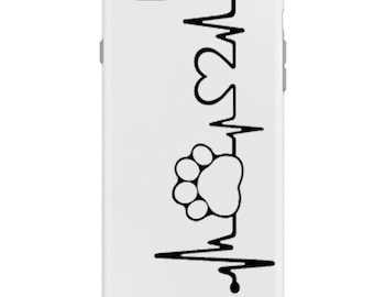 Paw print phone case   Etsy