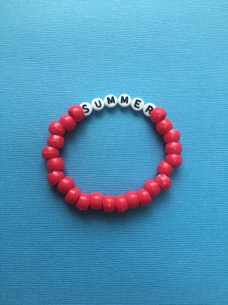 Summer beaded vsco bracelet, vsco jewlery, kandi bracelet, vsco friendship  bracelet, trendy beaded bracelet