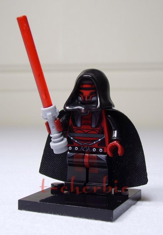 Star Wars Custom Carded Mini-figure Darth Revan Minifigure KOTOR Old Republic