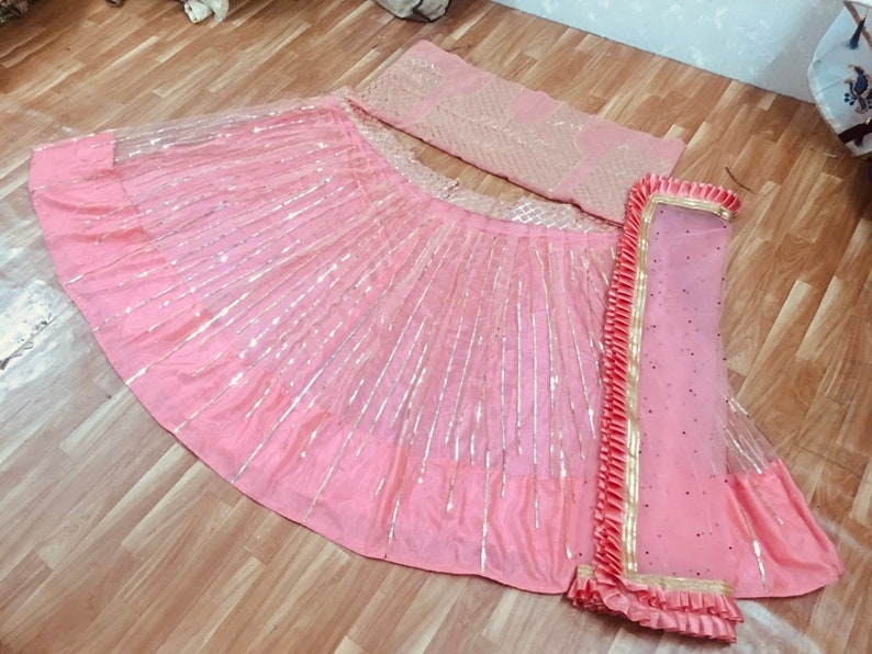 New Indian Outfit Clothing Lehenga Choli Party Wedding Wear Dewali Christmas Gift For Women With Dupatta