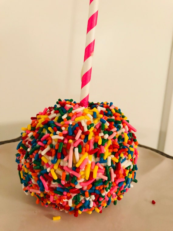 Sprinkles Chocolate Caramel Apples Etsy