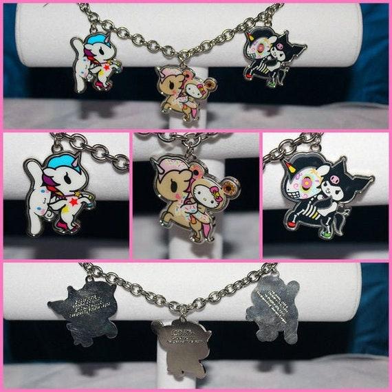 Hello Kitty/Tokidoki Charm Bracelet Bag Charm
