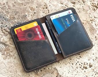 466a1258 Mens card wallet | Etsy