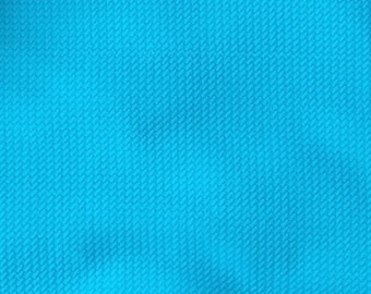 88a747c7da13 Neon Blue Bullet fabric | Liverpool | Stretch Fabric | Spandex | Solid  Fabric | Textured fabric | Bows fabric | Baby headbands | Baby headwr