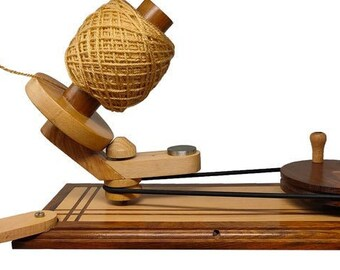 Hand Operated BIG Swift, Yarn, Wool, Speedy Ball Winder With Big Wheel of 14.5 Cm Dia and String Holder| Knitting & Crochet Accessories