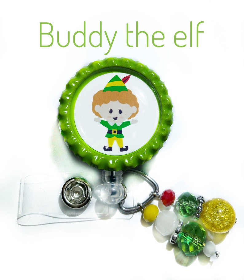 Buddy the Elf badge reel