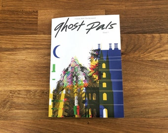 Ghost Pals Issue 1 - A Zine about London Ghosts - London - Haunted - Supernatural - Ghost Stories - Folklore - Legends - UK Ghosts -