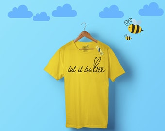 d73d4c36a Bee Keepers and Bee lover shirt - Let It bee - save the bees shirt Premium  Shirt