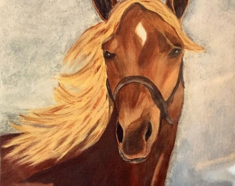 Sassy & Proud, Art Tile Ceramic, Painting, Canvas, Wall Art Tile