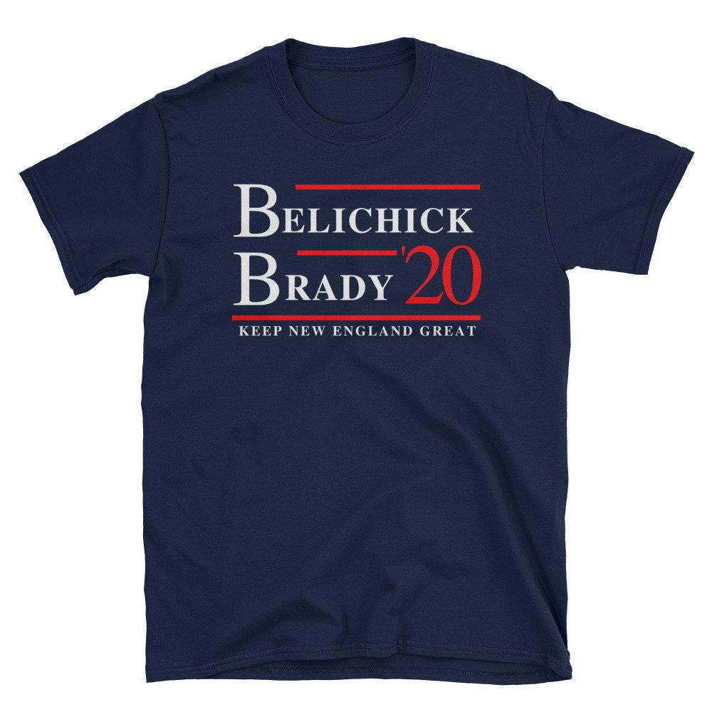 Belichick Brady New England Tshirt Brady And Belichick Pats Shirt 2019 2020 Tshirt For Pats Fans Brady Belichick Unisex Tshirt