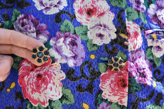 PRICE DROP - - The Royal Floral 2 Piece Suit with… - image 3