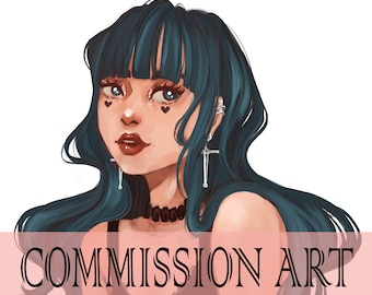 ART COMMISSION- Ordering personalized drawings in digital