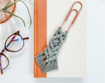Macrame Bookmark   Cute & Functional Gift   Boho Accessories   Boho Gift Idea   Gift for Readers