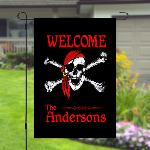 Welcome Custom Personalized Christmas Star Garden Banner Flag 11x14-12x18