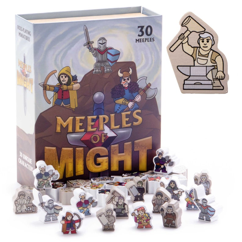 Meeples of Might image 0
