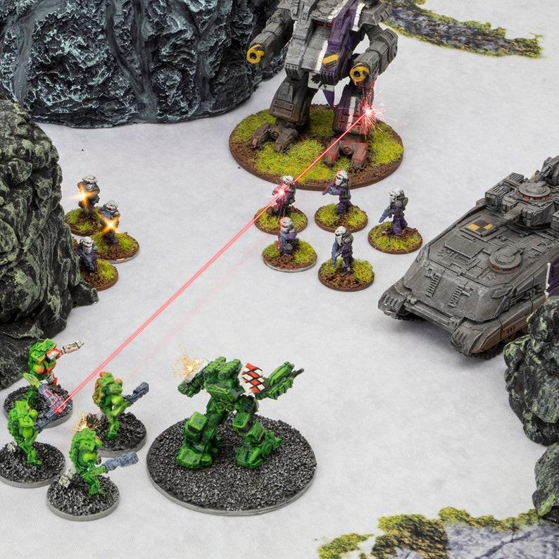 6/' x 4/' Winter War Neoprene Battlemat