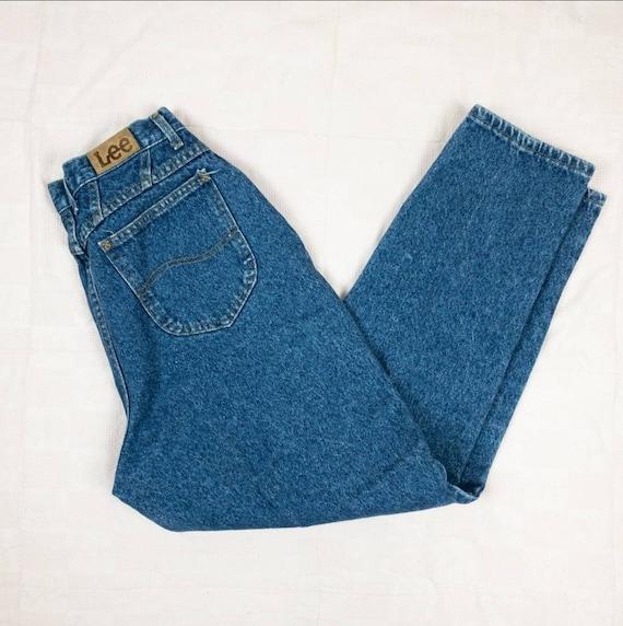 80s/90s Lee Jeans Size 8   Vintage mom jeans - image 7