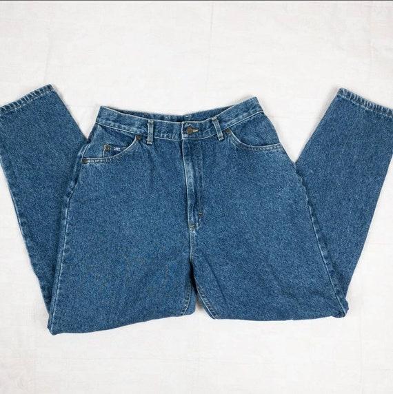 80s/90s Lee Jeans Size 8   Vintage mom jeans - image 6