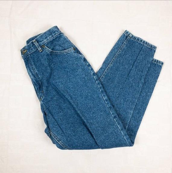 80s/90s Lee Jeans Size 8   Vintage mom jeans - image 3