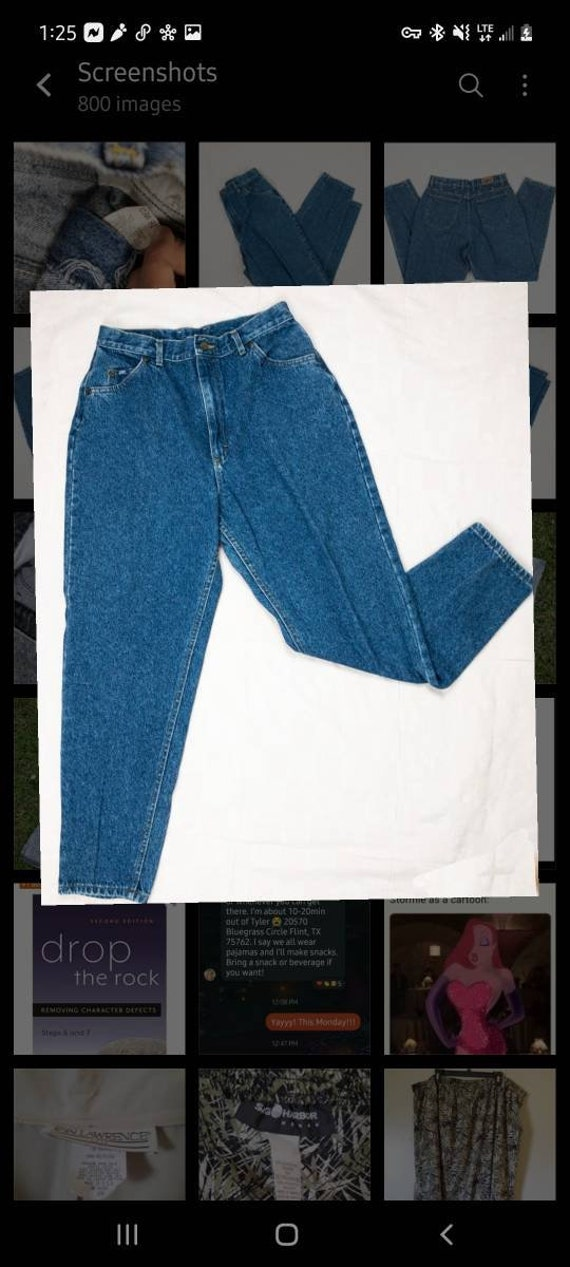 80s/90s Lee Jeans Size 8   Vintage mom jeans - image 5