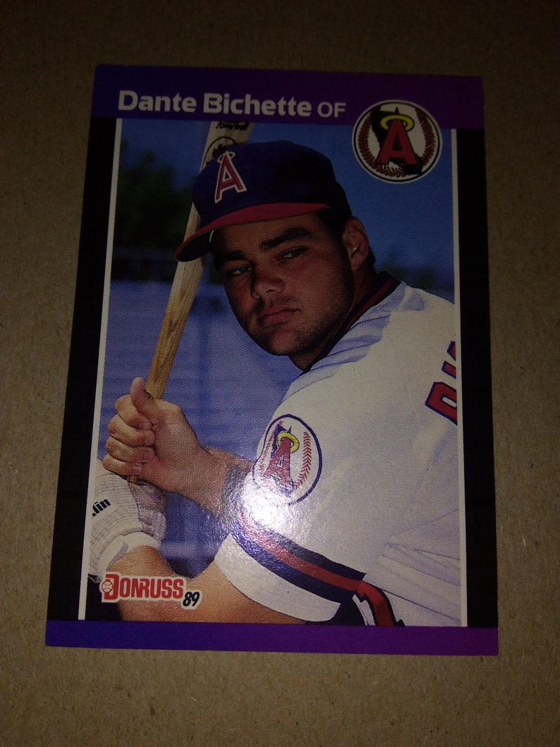 1989 Dante Bichette Donruss 634 Baseball Card