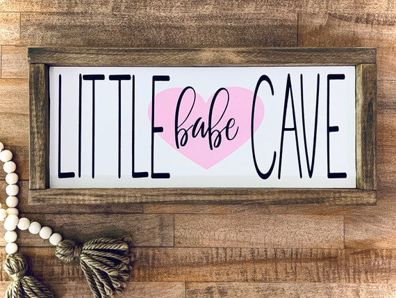Little Babe Cave~ Nursery Wall Tapestry ~ Customization Options~