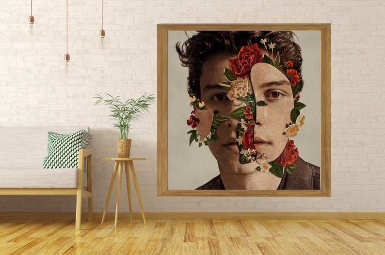 In My Blood Shawn Mendes Custom Poster Print Art Wall Decor