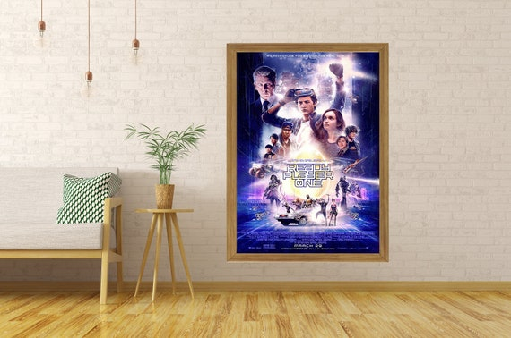 Ready Player One Hot Movie Art Silk Canvas Poster 13x20 32x48 inch