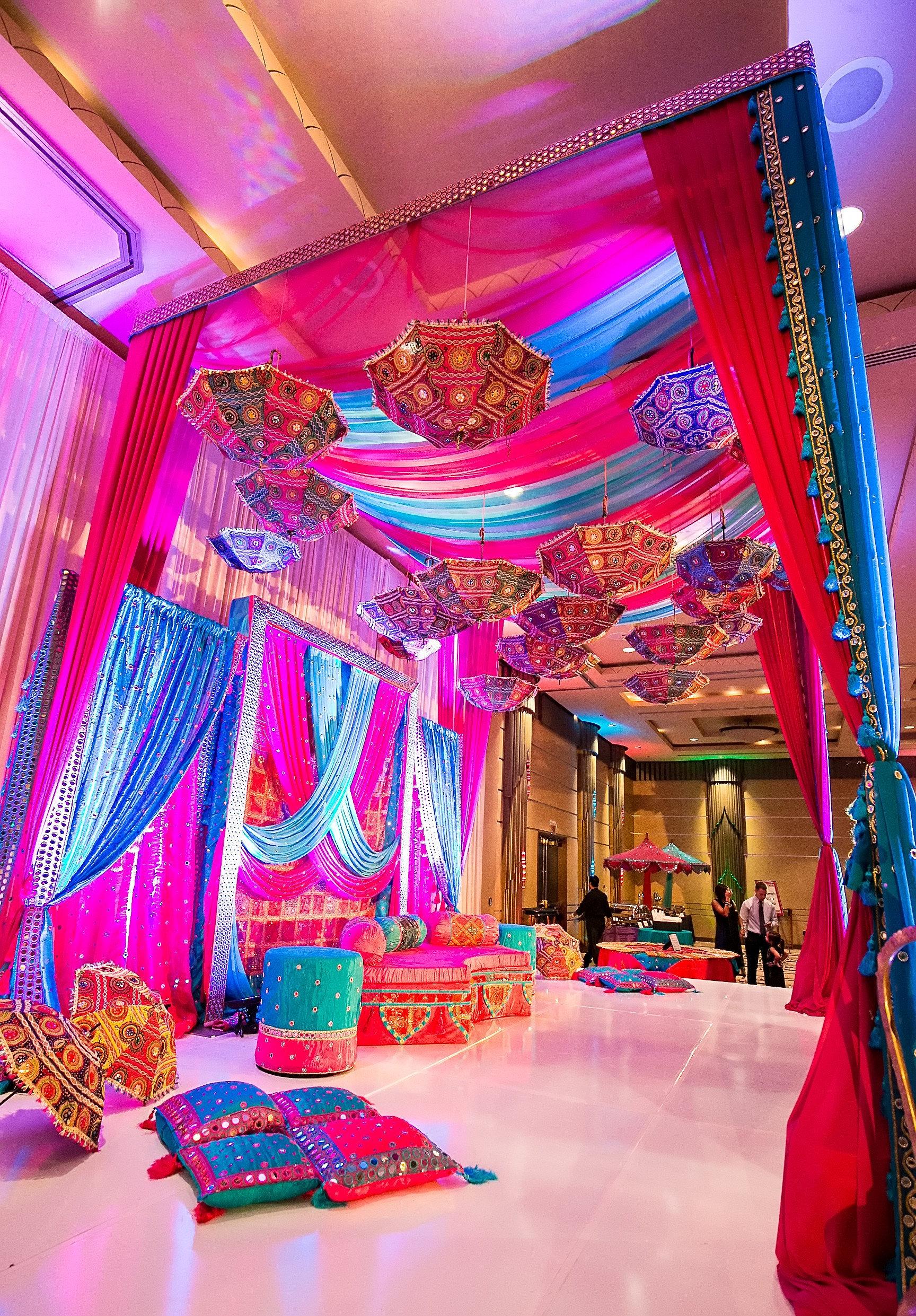 15 Pcs Decoration umbrella wedding umbrella henna mehndi night decor parasol mirror work umbrella gift for her umbrella handcrafted umbrella