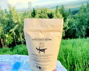 Organic, Herbal Loose Leaf Lucid Dream Tea - Herbal Blend - Blue Lotus, Sacred Lotus, Mugwort, & More