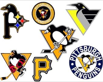 Penguins Logo Etsy