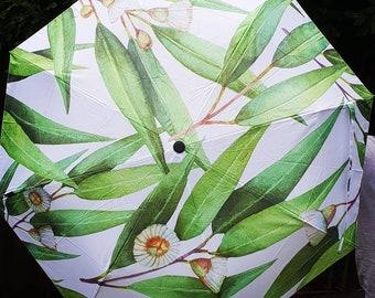Eucalyptus- Leaf-Australian Rain Umbrella collection- Native Flora- Designed in Australia.