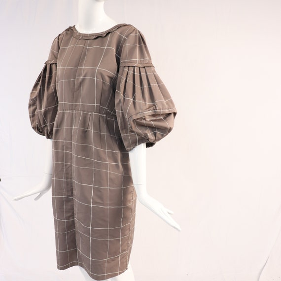 Authentic Vintage Valentino Check Print Dress