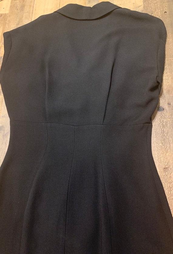 Black Thierry Mugler Dress - image 4
