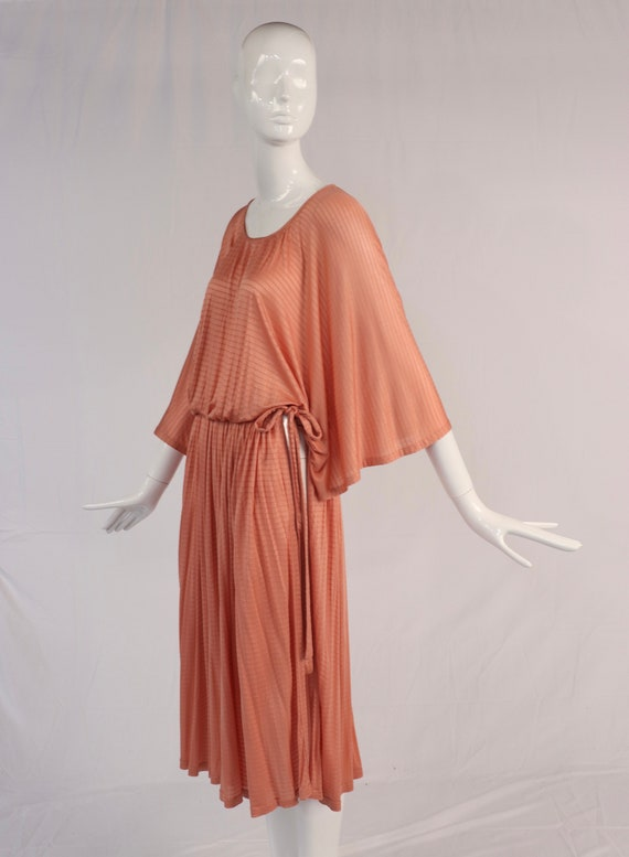 Vintage 1970s Missoni Silk Wrap Dress