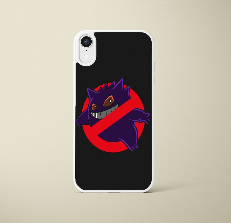 Pokemon Gengar Iphone Case Iphone 6s 7 8 X Xs Xr Black Or White