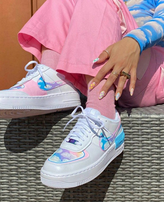 nike air force 1 shadow raimbow