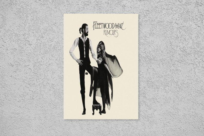 Rumours Giclee Canvas Album Cover Picture Art Fleetwood Mac
