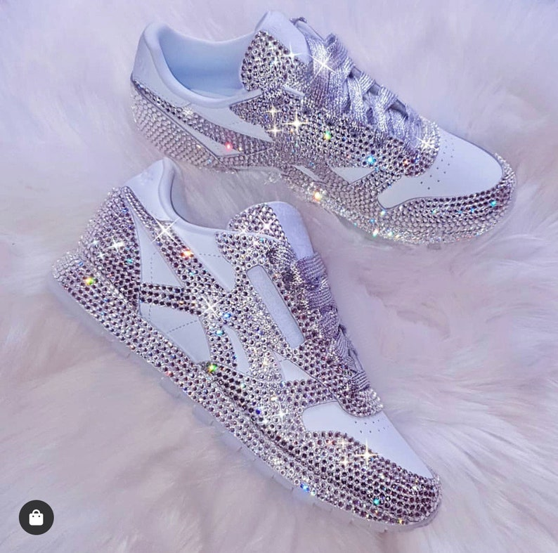 Swarovski Crystal Reebok Shoes