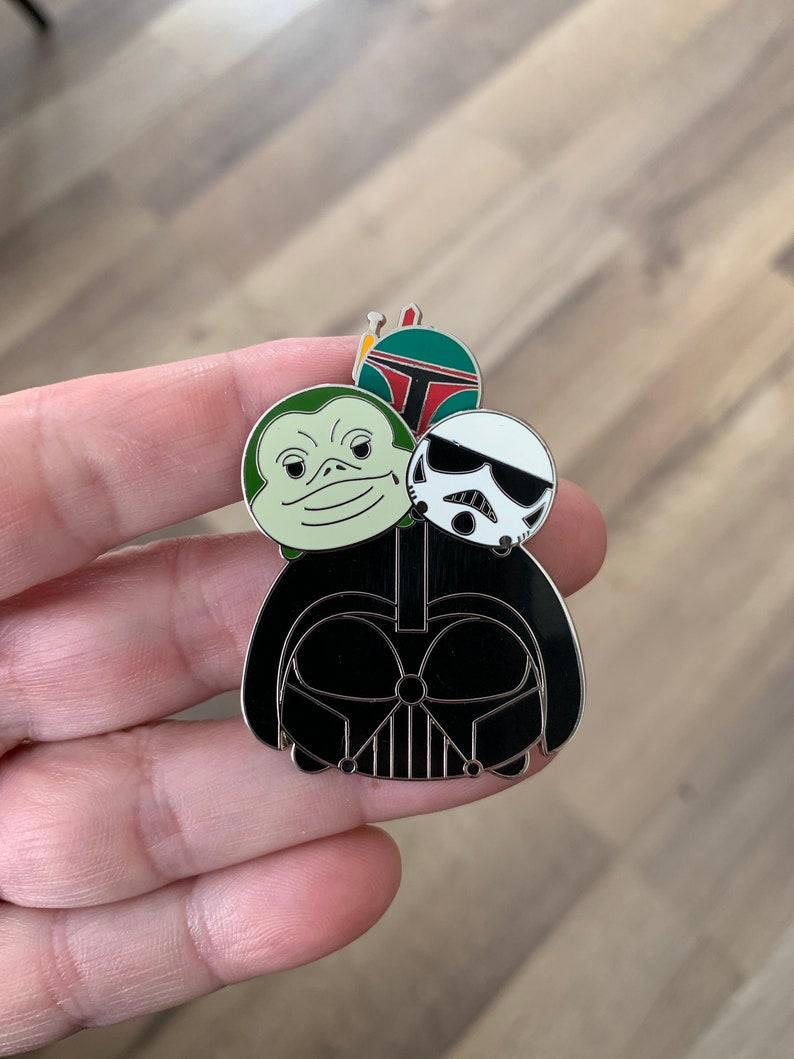 Pin 119966 Tsum Tsum Slider Series Star Wars Villains