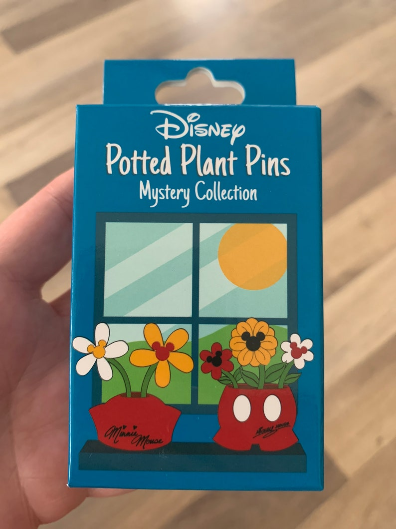 Potted Plant Mystery Flower /& Garden 2020 Pin 138529 WDW Genie Lamp