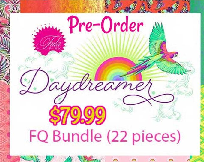 Daydreamer- PRE-ORDER-Tula Pink-Fat Quarter Bundle-22 Prints